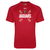 Under Armour Red Tech Tee-Jaguars Ball Stitches