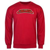 Red Fleece Crew-UHV Jaguars
