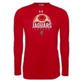 Under Armour Red Long Sleeve Tech Tee-Jaguars Soccer