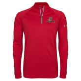 Under Armour Red Tech 1/4 Zip Performance Shirt-UHV Logo