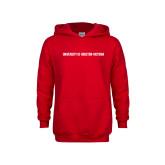 Youth Red Fleece Hoodie-University of Houston Victoria