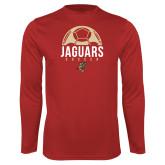 Performance Red Longsleeve Shirt-Jaguars Soccer