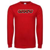Red Long Sleeve T Shirt-UHV