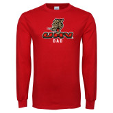 Red Long Sleeve T Shirt-UHV Dad