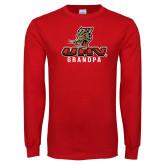 Red Long Sleeve T Shirt-UHV Grandpa