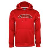Under Armour Red Performance Sweats Team Hoodie-UHV Jaguars