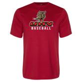 Performance Red Tee-UHV Baseball
