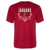Performance Red Tee-Jaguars Baseball