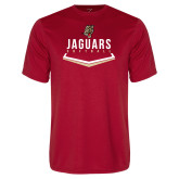 Performance Red Tee-Jaguars Softball