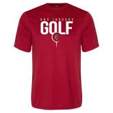 Performance Red Tee-Jaguars Golf