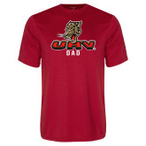 Performance Red Tee-UHV Dad