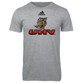 Adidas Sport Grey Logo T Shirt-UHV Logo