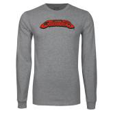 Grey Long Sleeve T Shirt-UHV Jaguars
