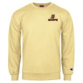 Champion Vegas Gold Fleece Crew-UHV Logo