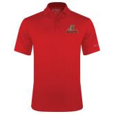 Columbia Red Omni Wick Drive Polo-UHV Logo