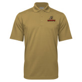 Vegas Gold Mini Stripe Polo-UHV Logo
