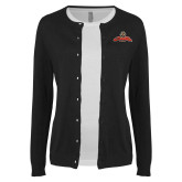 Ladies Black Cardigan-Primary Mark