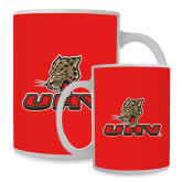 Full Color White Mug 15oz-UHV Logo