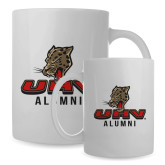 Alumni Full Color White Mug 15oz-UHV Alumni
