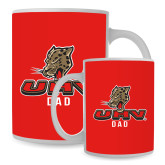 Dad Full Color White Mug 15oz-UHV Dad