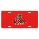 License Plate-UHV Alumni