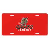 License Plate-UHV Grandma
