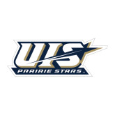 Large Decal-UIS Prairie Stars - Official Logo, 12 in wide