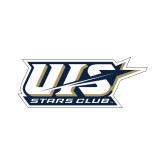 Small Decal-UIS Stars Club, 6 in wide