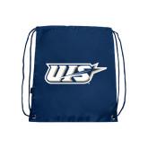 Navy Drawstring Backpack-UIS