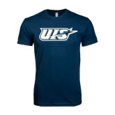 Next Level SoftStyle Navy T Shirt-UIS