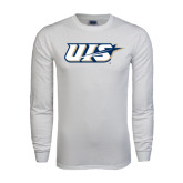 White Long Sleeve T Shirt-UIS