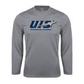 Performance Steel Longsleeve Shirt-UIS Prairie Stars