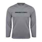 Performance Steel Longsleeve Shirt-Prairie Stars - Flat