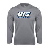 Performance Steel Longsleeve Shirt-Soccer