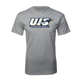 Grey T Shirt-Basketball