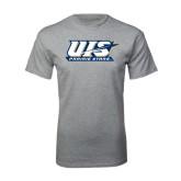 Grey T Shirt-UIS Prairie Stars
