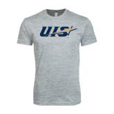Next Level SoftStyle Heather Grey T Shirt-UIS