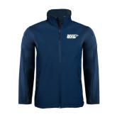 Navy Softshell Jacket-UIS