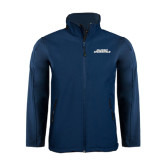 Navy Softshell Jacket-Illinois Springfield