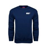 Navy Fleece Crew-UIS