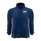 Fleece Full Zip Navy Jacket-UIS