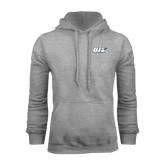 Grey Fleece Hoodie-UIS