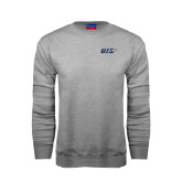 Grey Fleece Crew-UIS