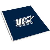College Spiral Notebook w/Clear Coil-UIS Prairie Stars - Official Logo