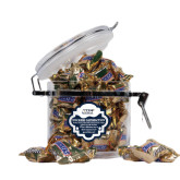 Snickers Satisfaction Round Canister-UIS Prairie Stars - Official Logo