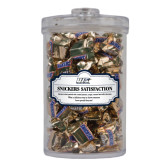 Snickers Satisfaction Large Round Canister-UIS Prairie Stars - Official Logo