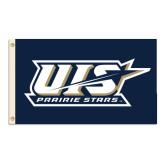 3 ft x 5 ft Flag-UIS Prairie Stars w/ Stars