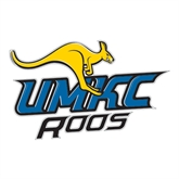 Large Decal-UMKC Roos w/Roo, 12 in W