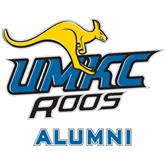 Alumni Decal-UMKC Roos w/Roo, 6 in W