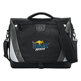 Slope Black/Grey Compu Messenger Bag-UMKC Roos w/Roo